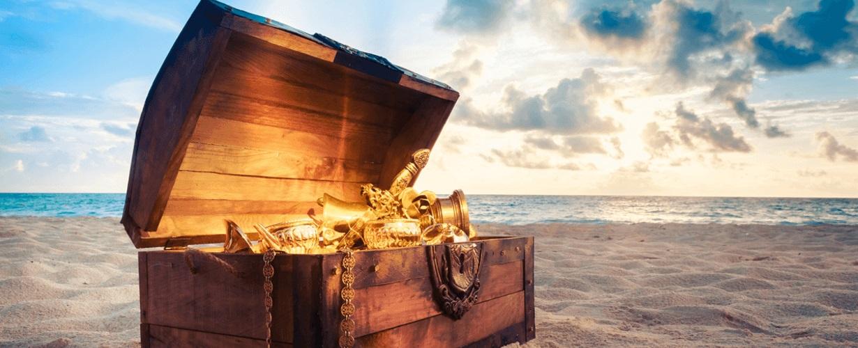 Busca de tesoros: aventuras dentro de los límites de las leyes