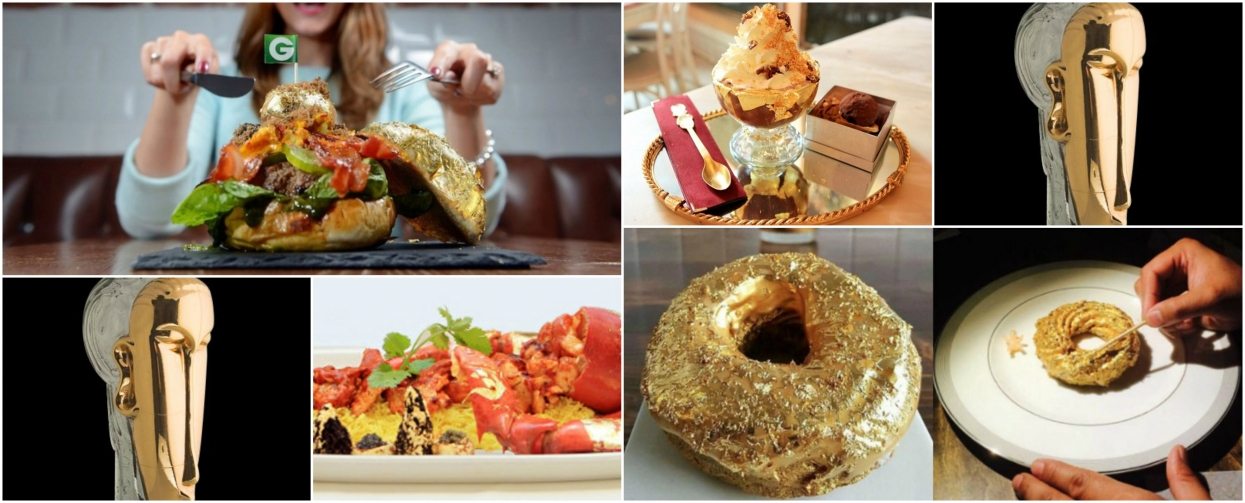 TOP 5: Worlds most expensive food and drinks with gold