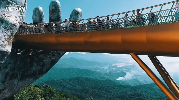 The Golden Bridge of Vietnam