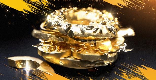 3 millones de dólares por un bagel de oro