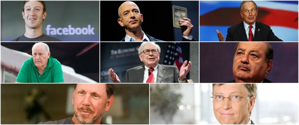 You won't believe what these 8 billionaires own!