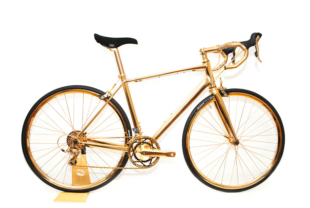 Gold Bicycles
