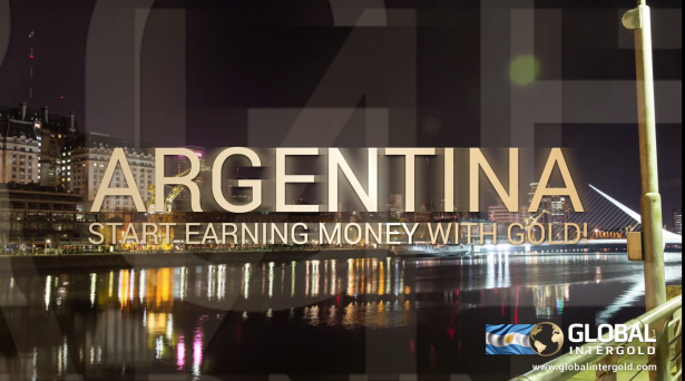 [VIDEO] Benvenuta Argentina a Global InterGold!