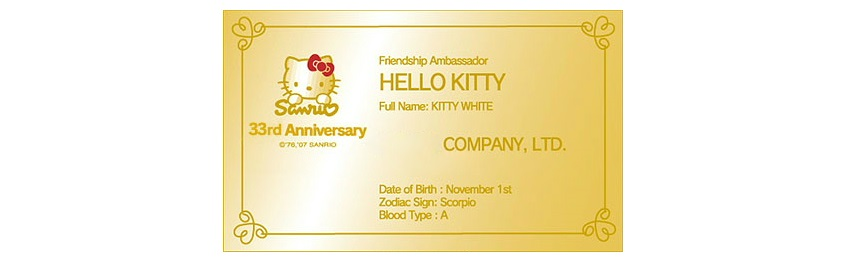 Japanese Trend on Gold Business Cards