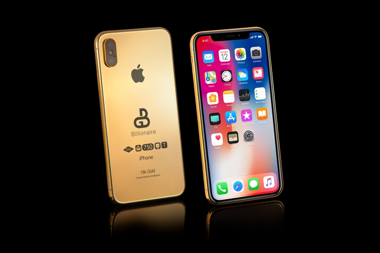 A gold phone for billionaires