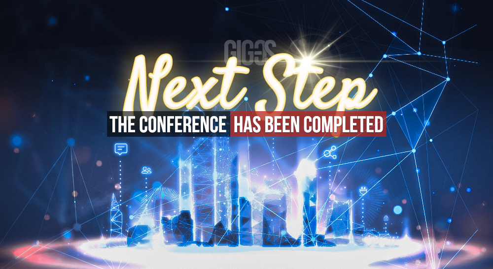 «Next Step» — ¡la conferencia ha finalizado!