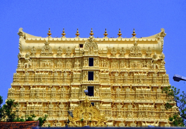 The mystery of the Indian temple