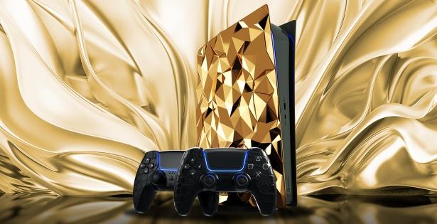 Console di gioco d'oro – un attributo del giocatore d'elite