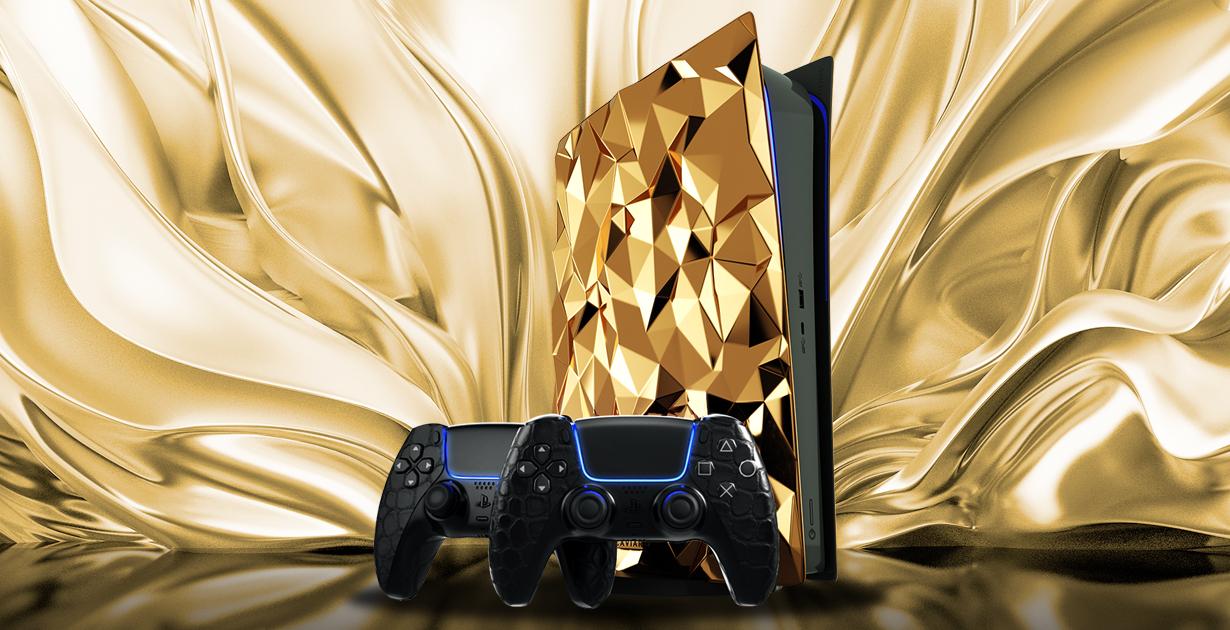 Золотая консоль — атрибут элитного геймера