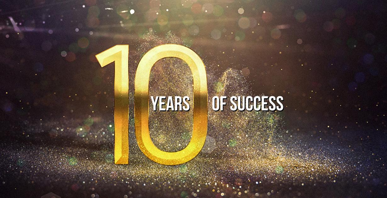 Abbiamo 10 anni!