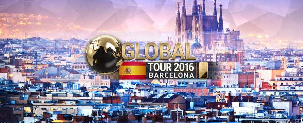 Register now for the Global Tour 2016 event in Barcelona!