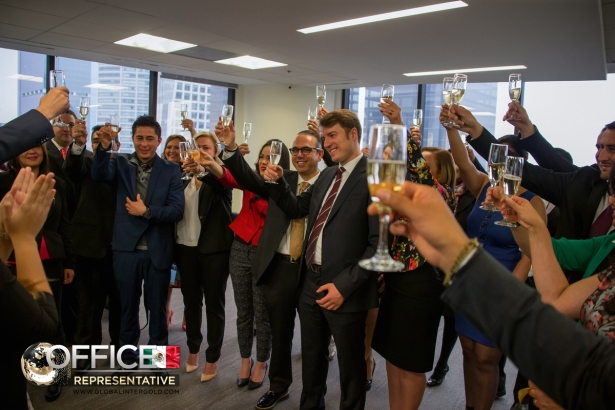 [PHOTOS] The new Global InterGold's office in Mexico opened its doors