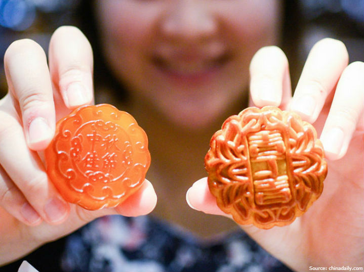 gold mooncake