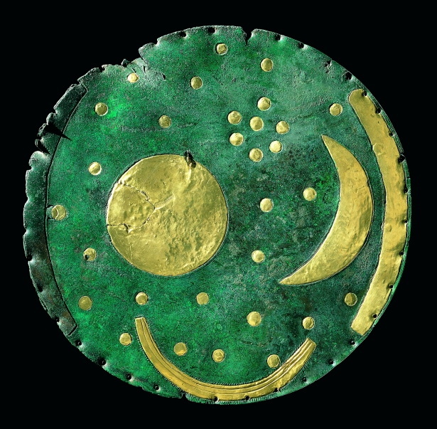 The golden sky disk Nebra