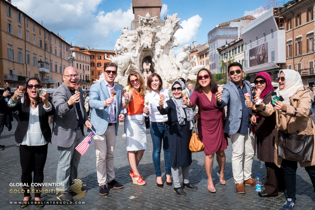[PHOTOS] Lovely stroll around Rome with Global InterGold clients
