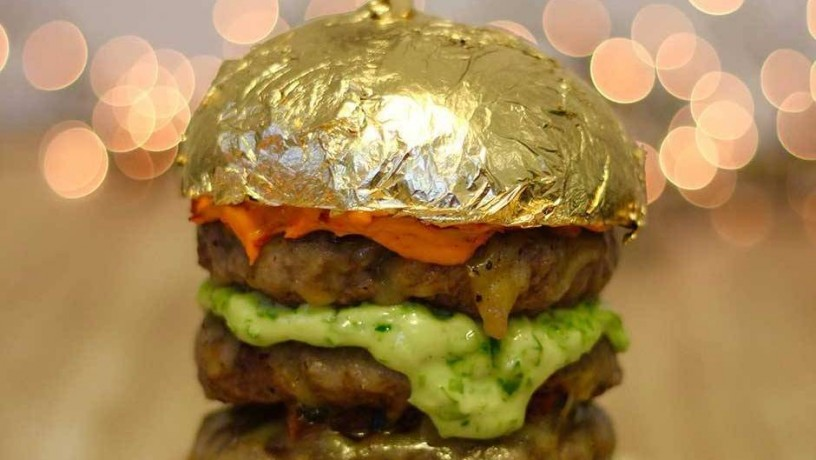The tallest building in the world inspires a 24-karat gold burger