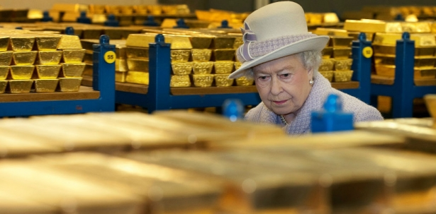 Secret London's gold reserves amount about to be revealed