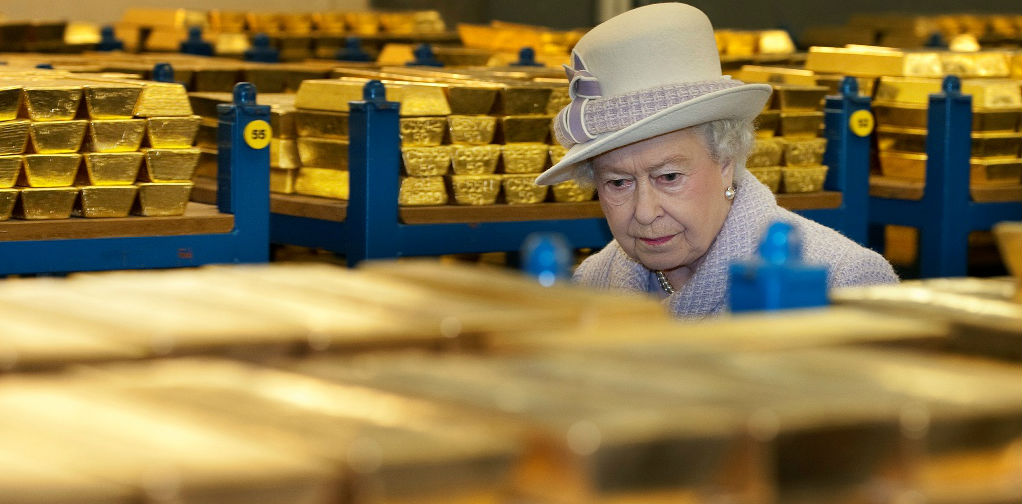 Secret Londons gold reserves amount about to be revealed