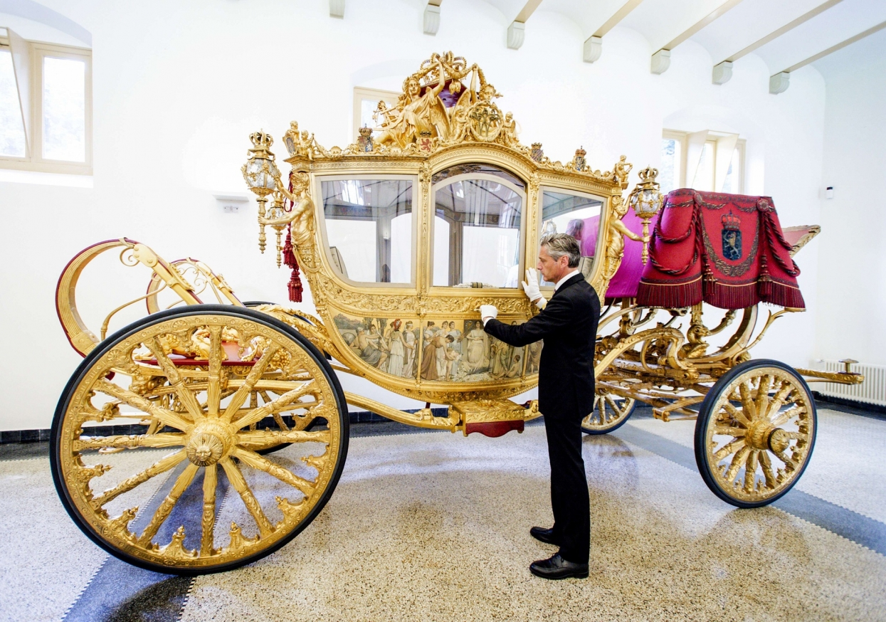 The Golden Coach of the Kingdom of the Netherlands