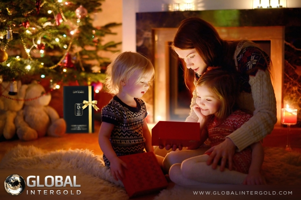 Best Christmas Gift? Gold & Business all-in-one!