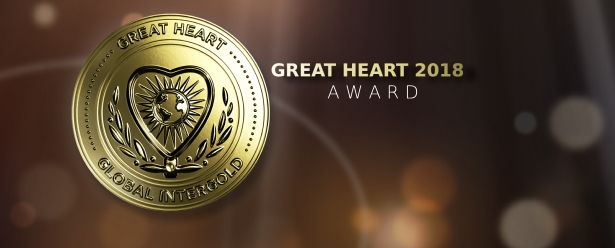 "The ""Great Heart"": the main award of Global InterGold"