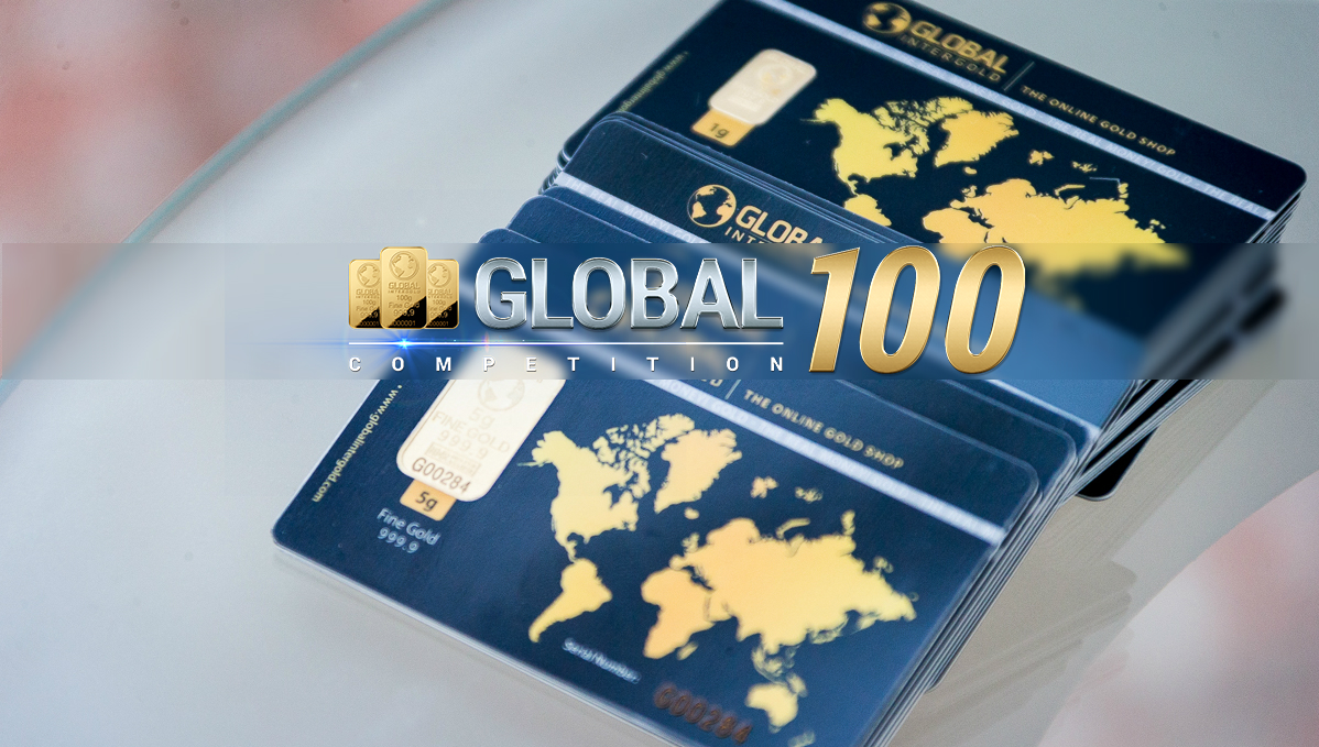 Get gold worth up to 3,600 EUR with Global 100! Meet the winners from September!