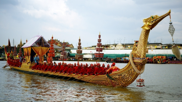 The Royal Barge of the Rulers of Thailand