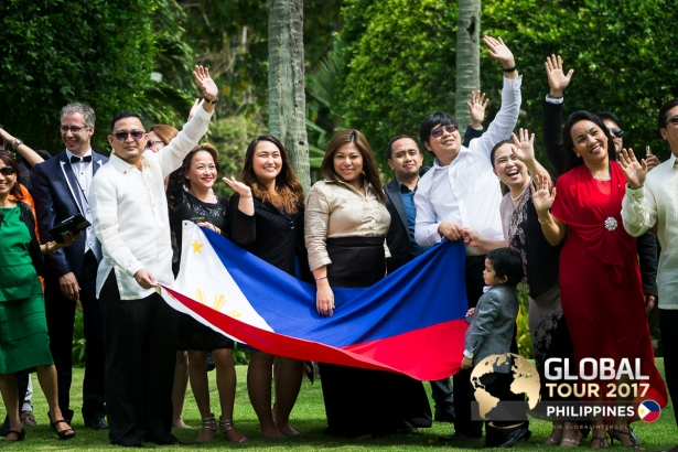 [PHOTOS] The Philippines goes for gold at the Global Tour 2017 conference
