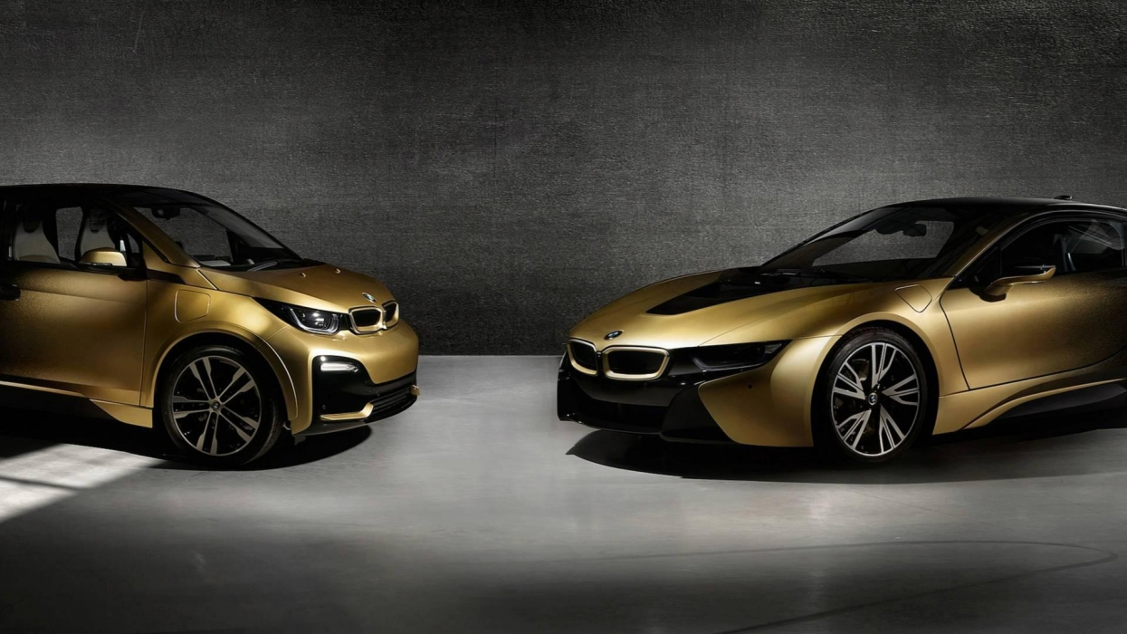"The Czechs ""bathed"" BMW in gold"