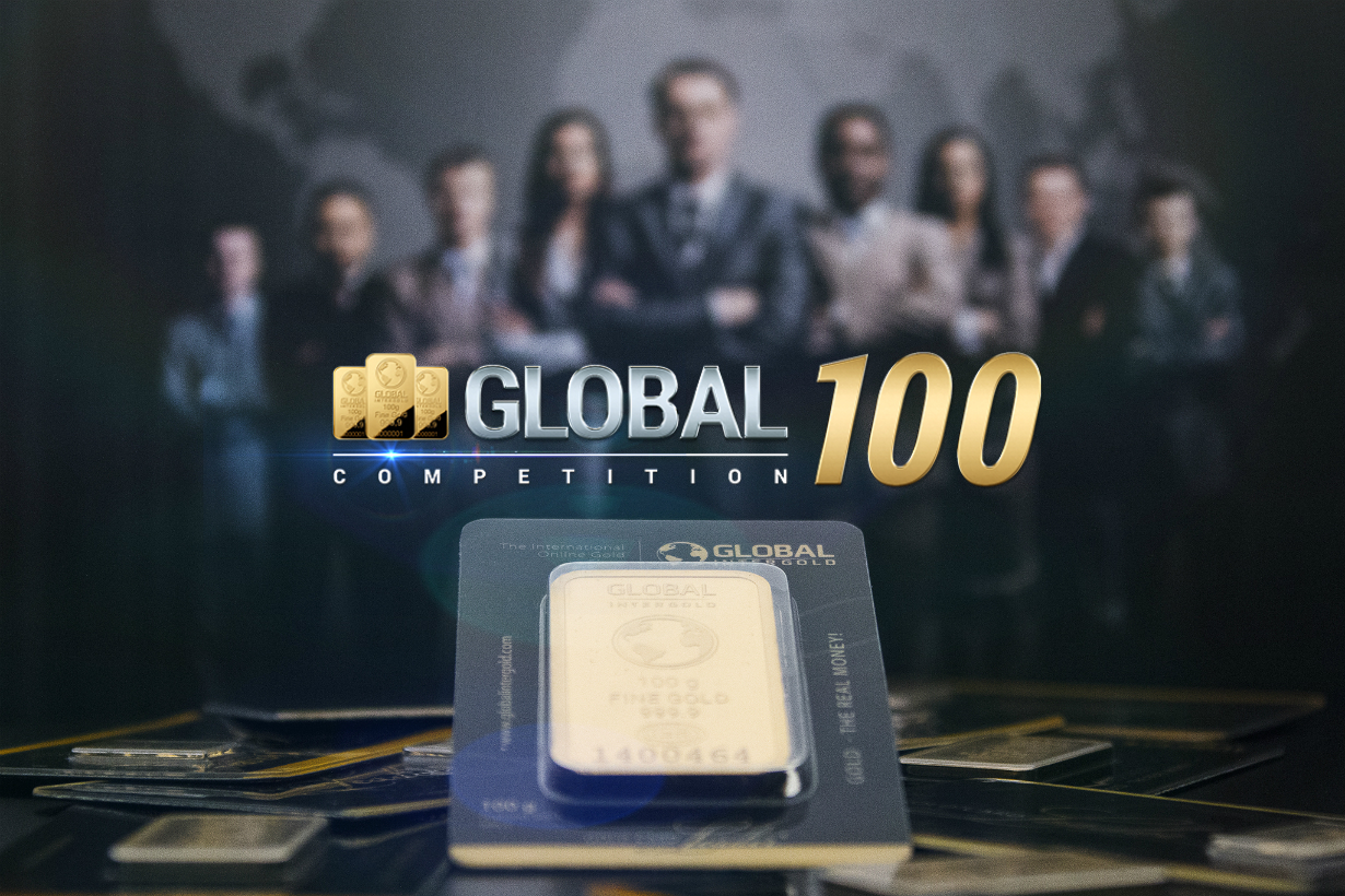 Global InterGolds clients will receive gold bars worth of 6,700 EUR in total!