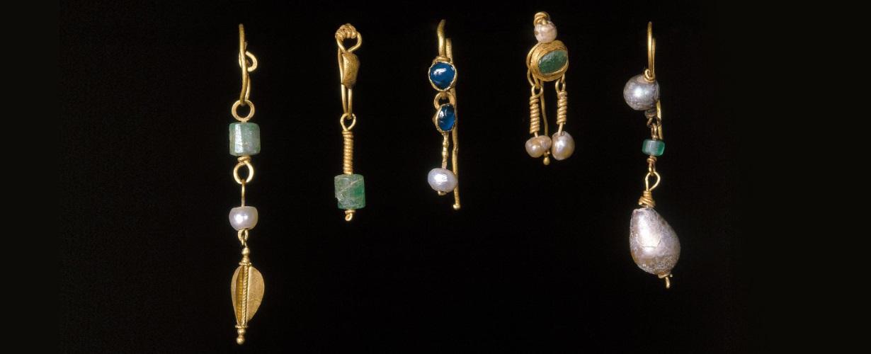 Золотые украшения Древнего Рима