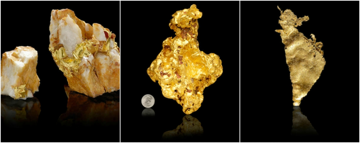 Rare gold specimens to be sold at Bonhams May 23rd auction