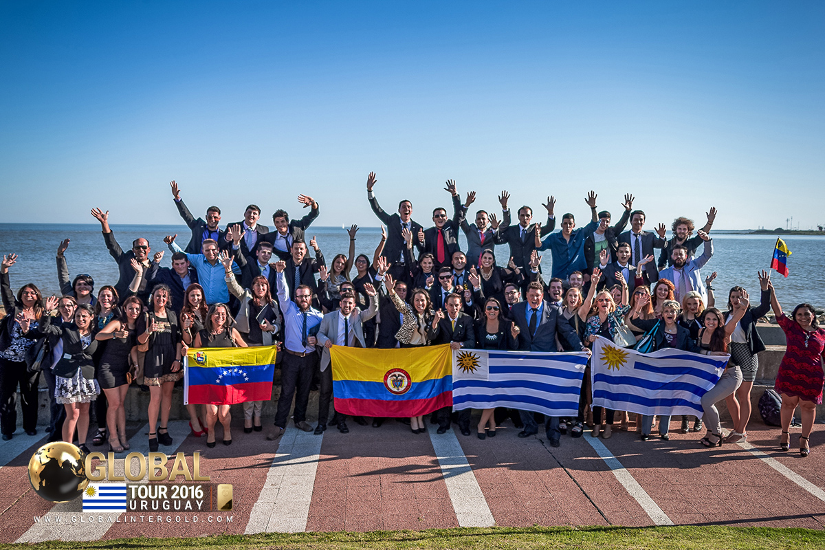 [FOTOGRAFÍAS] Inolvidable evento de Global InterGold en Montevideo, Uruguay