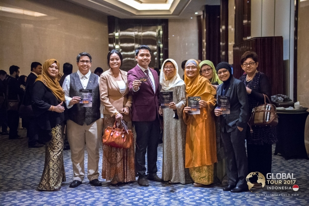 Gold + success = Global InterGold's conference in Jakarta