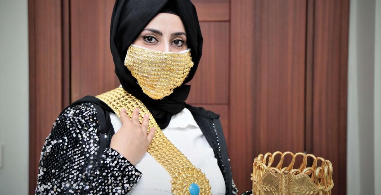 Tendencia 2020: las mascarillas de oro
