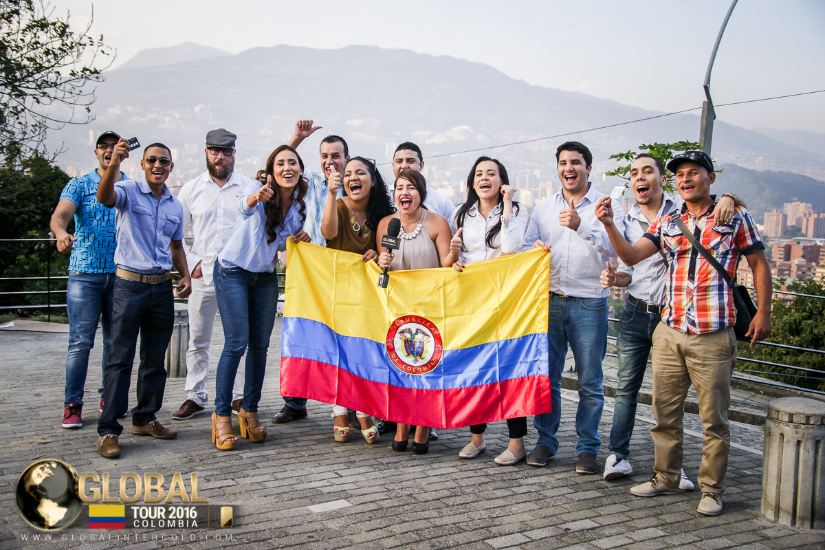 Global InterGold Colombia: Global Tour debut!