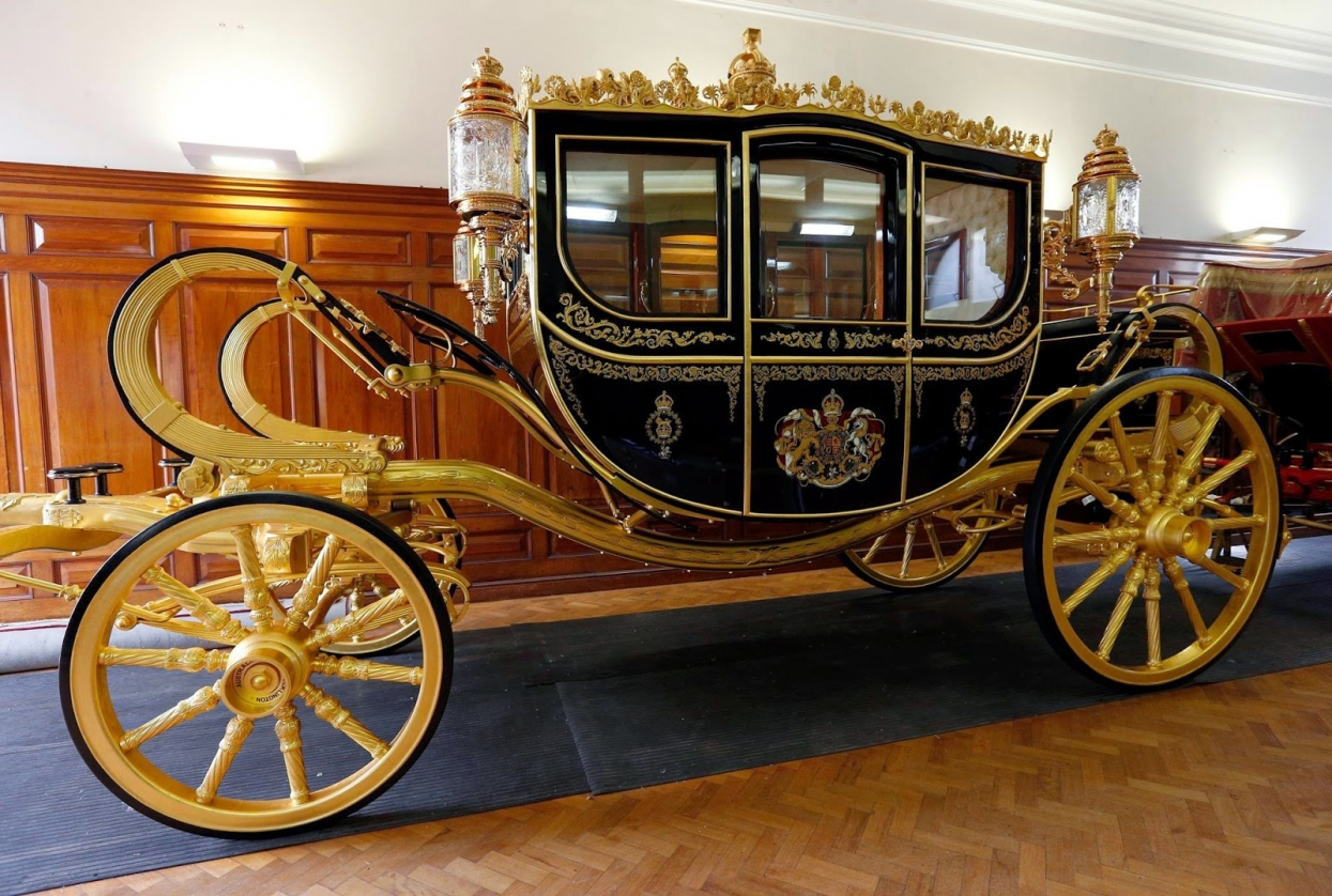 The Gold State Coach of Elizabeth II