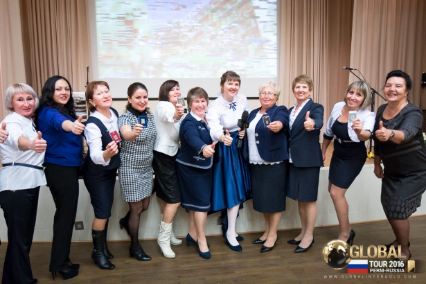 [PHOTOS] Global Tour 2016 conference in Perm: Gold business prospers