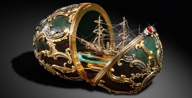 Fabergé: los secretos de huevos joyas