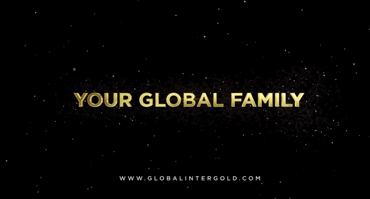 [VIDEO] Global InterGold è una familia globale!
