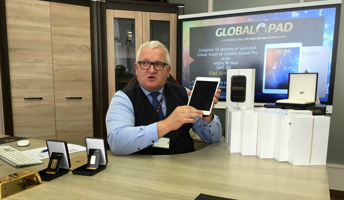 [VIDEO] GIG's Director of Development presents the exclusive Apple iPad to everyone fulfilling the conditions of the Promotion