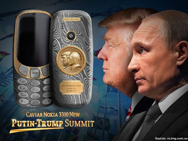 Nokia returns… set in gold!