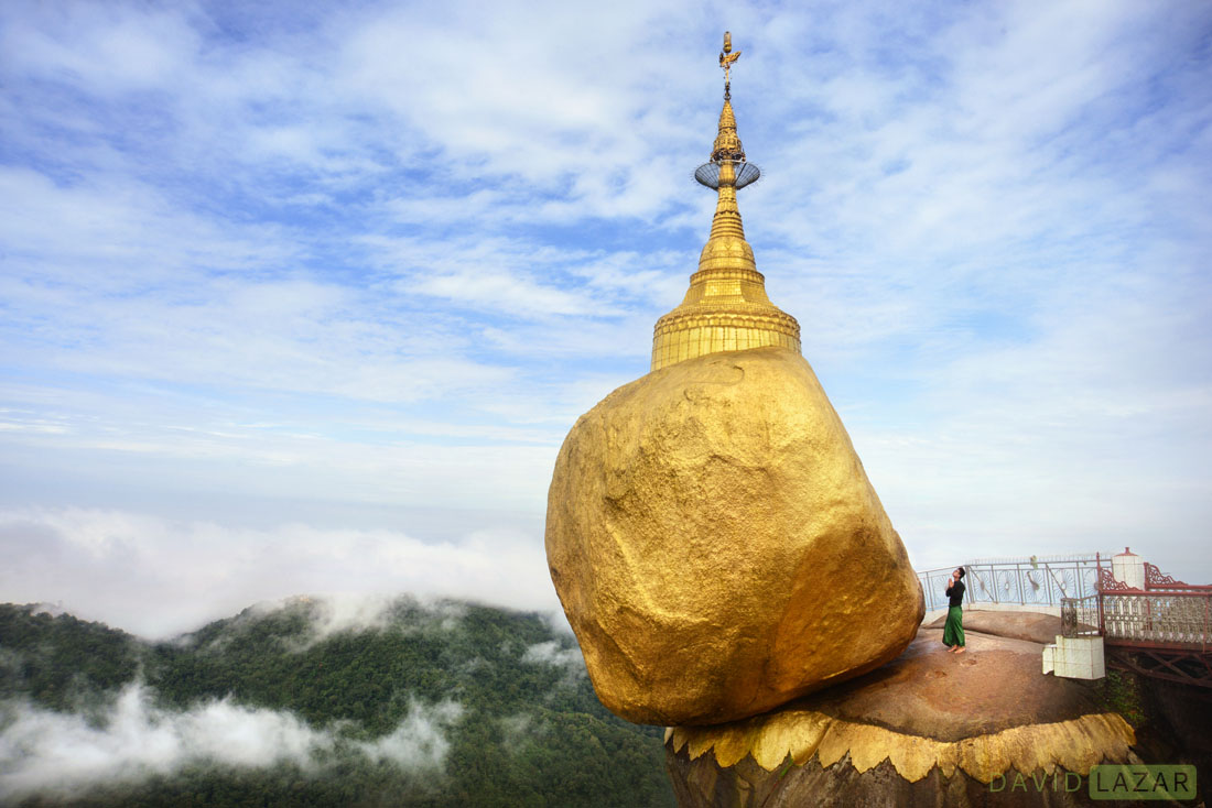 The Mystery of Gravity: The Golden Rock of Myanmar