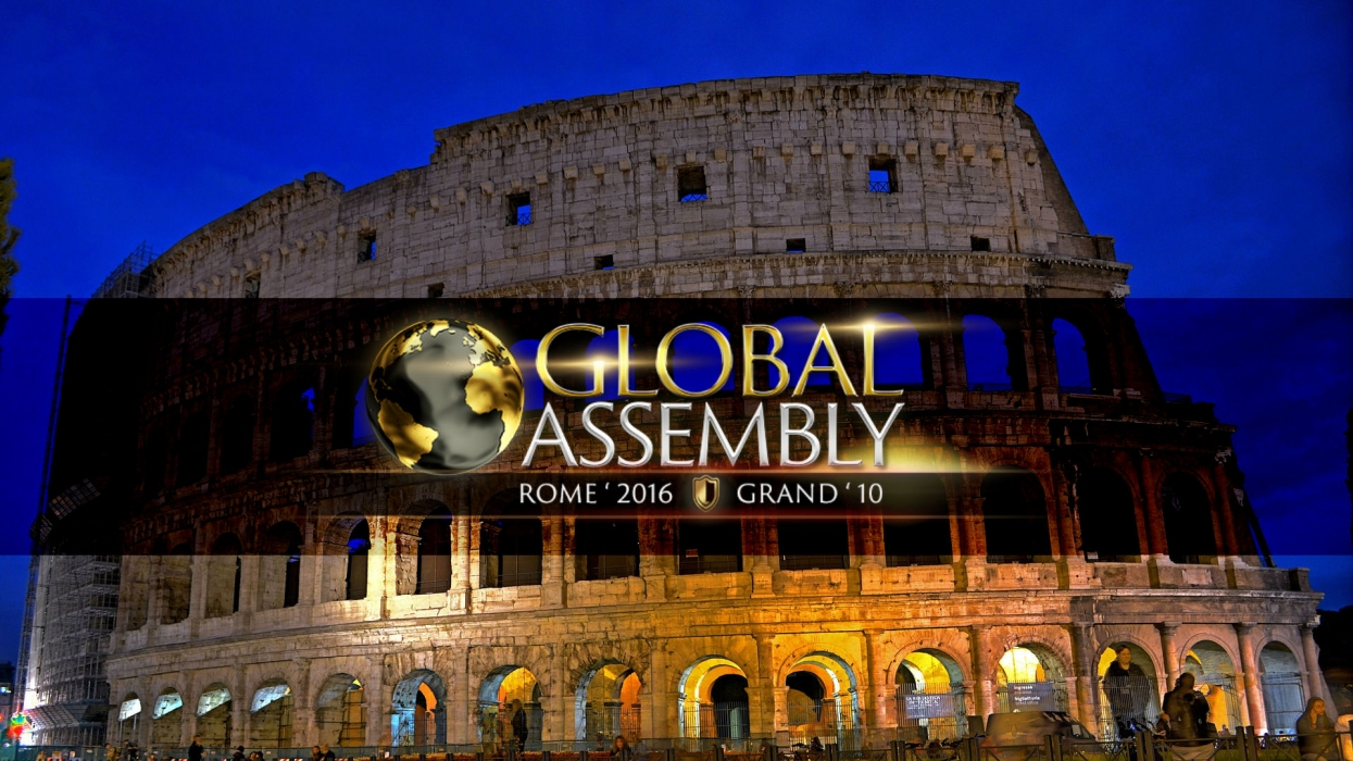 What awaits us at the Global Assembly 2016 in Rome?
