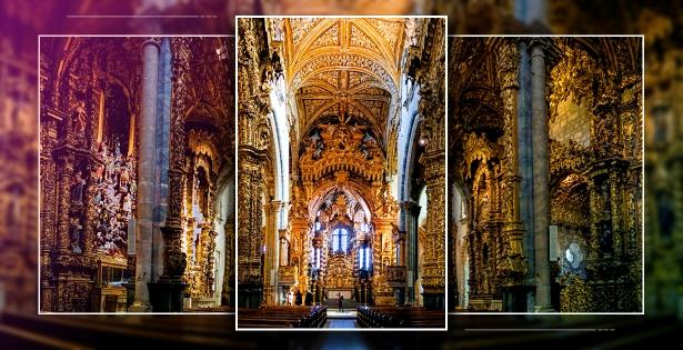 El barroco dorado de Oporto