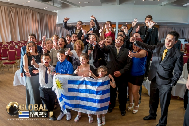 "[PHOTOS] Global Tour 2016 in Uruguay: ""The Road to the Future"""