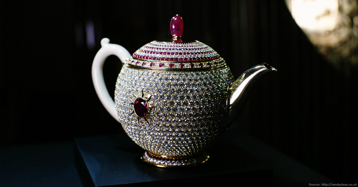 "A teapot ""Egoist"" for $3 Million"
