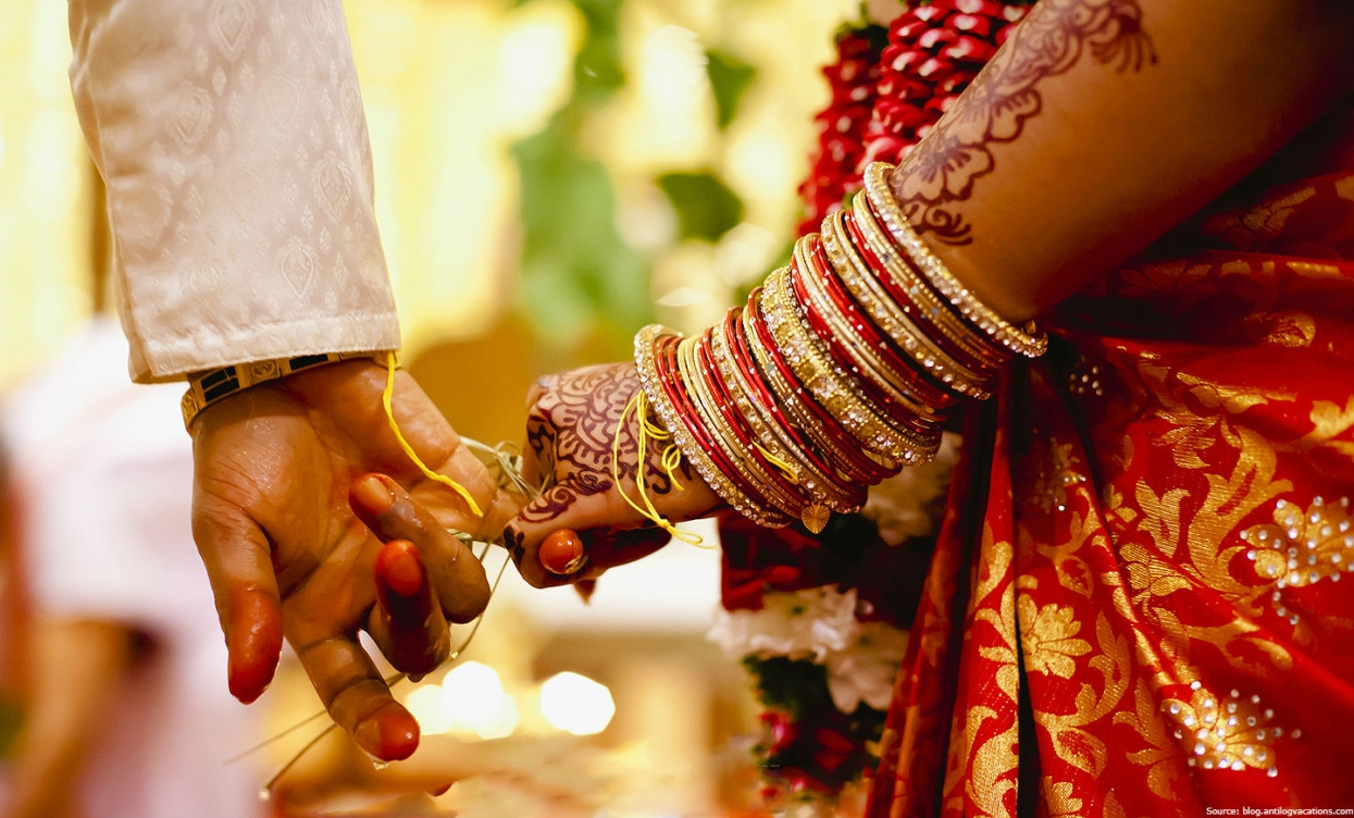 Golden weddings in India