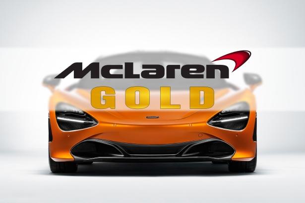 Oro de McLaren