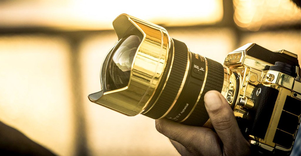 Zoom in Gold: Precious Cameras